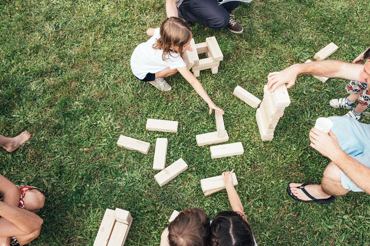Jeu de construction Festival du parc de Beauregard