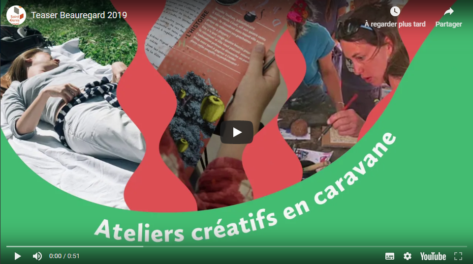 Vidéo teaser Festival du parc de Beauregard