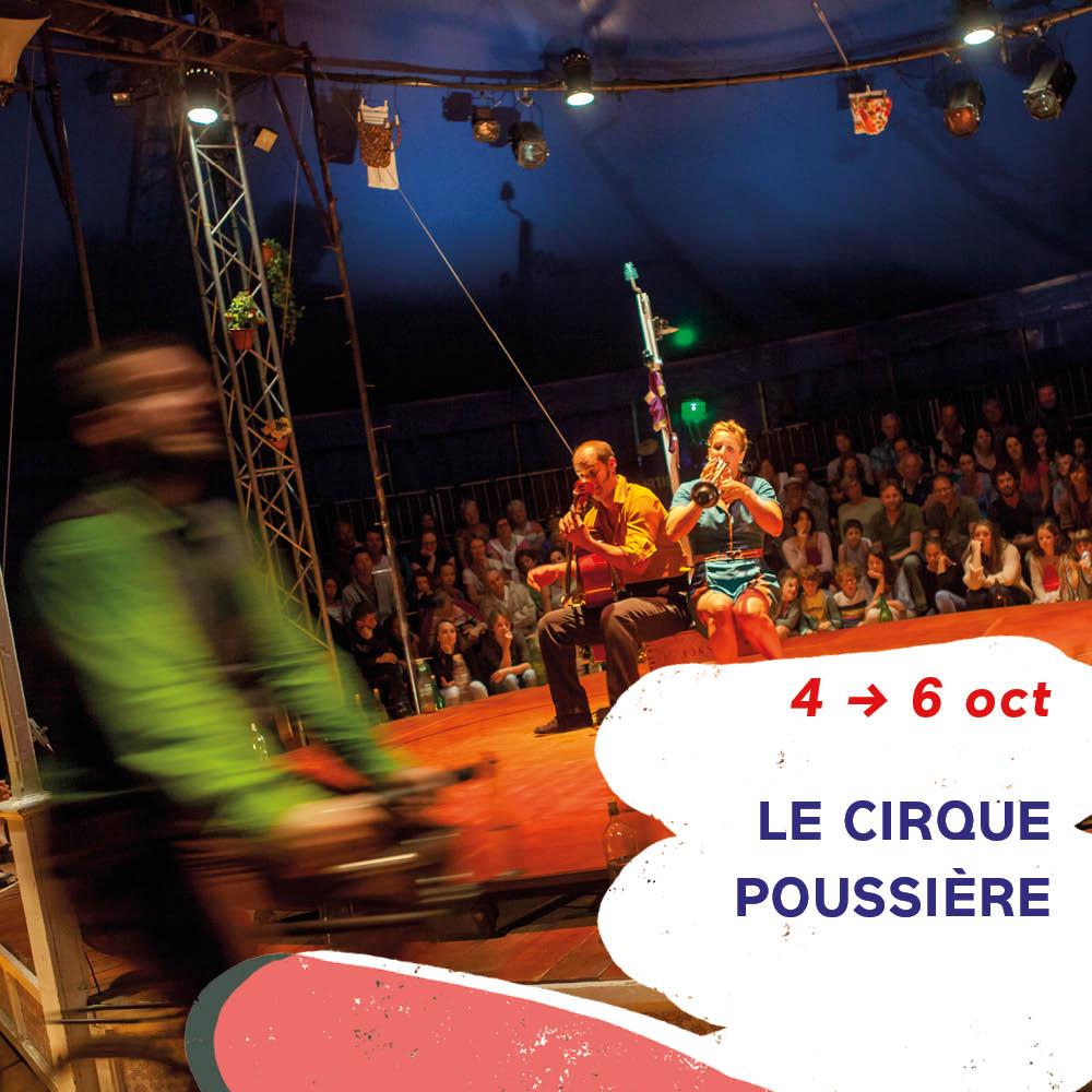 spectacle Le crique Poussière