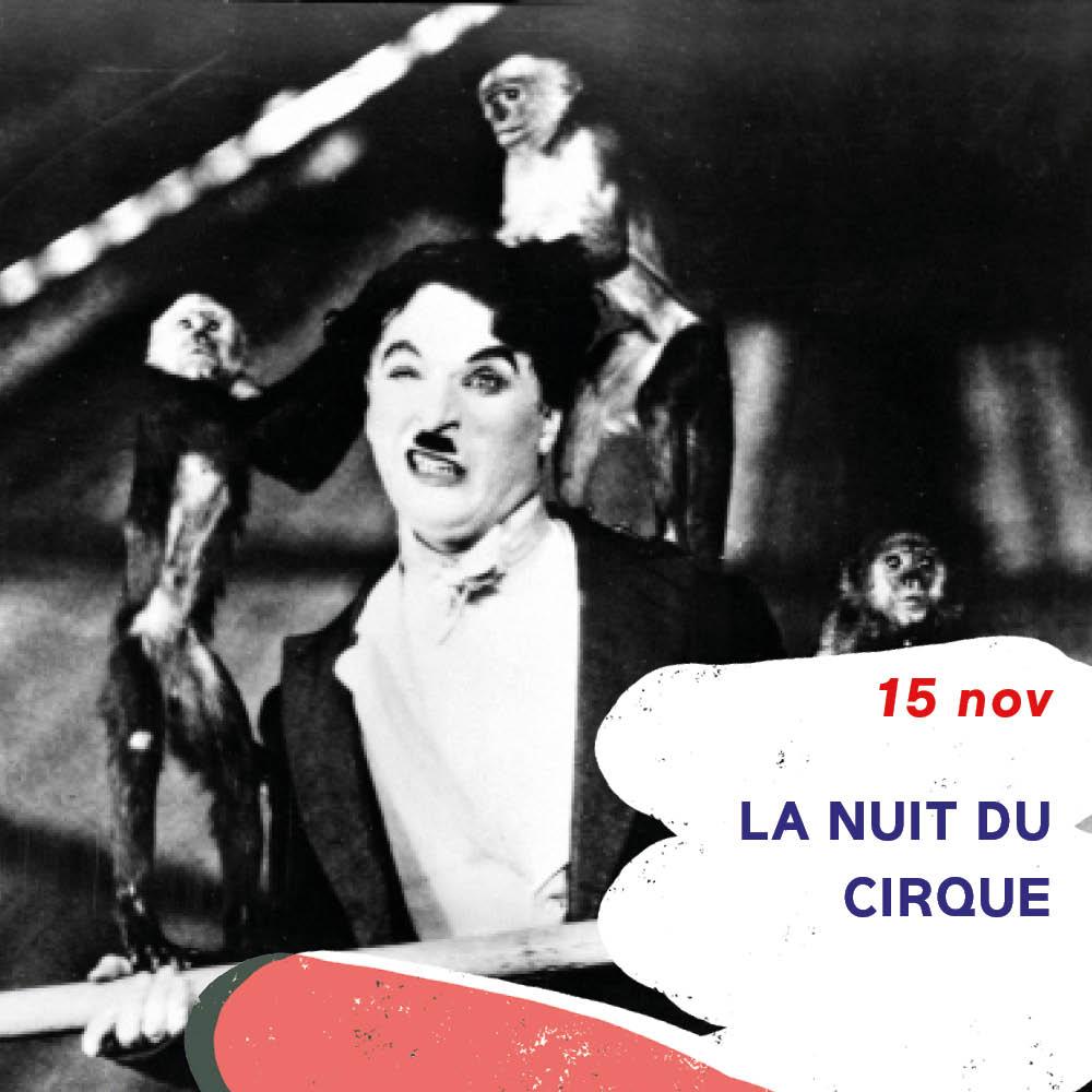 la nuit du cirque au cinéma