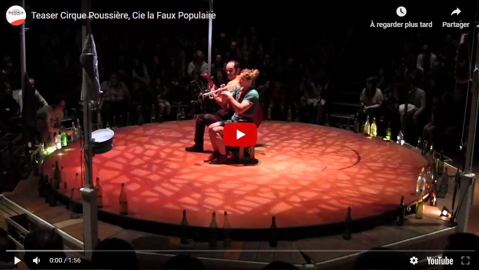 Vidéo spectacle Le cirque poussière