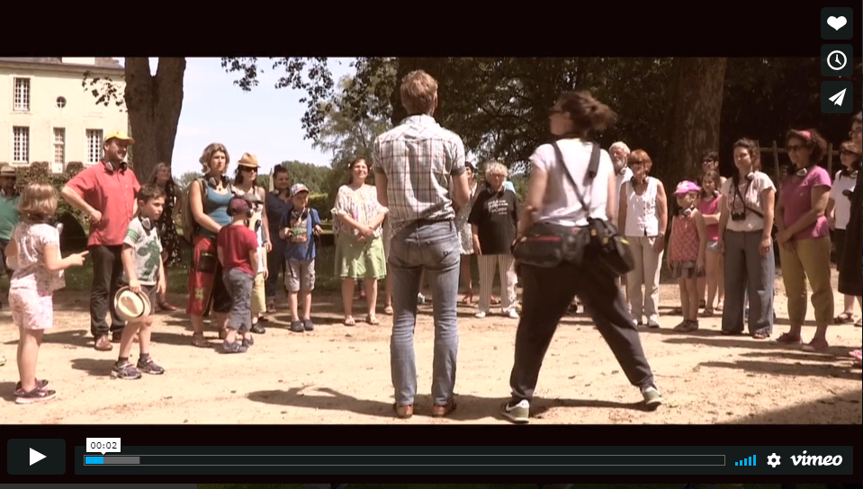 Vidéo clin d'oeil au festival de Beauregard