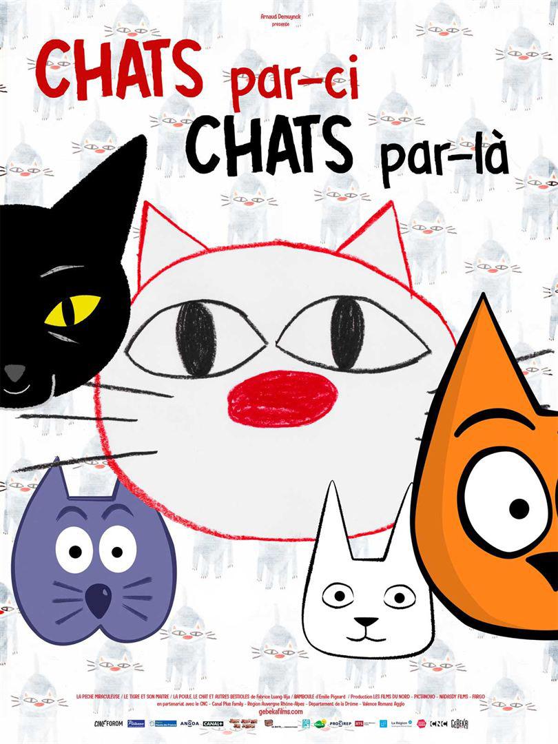 affiche chat par-ci
